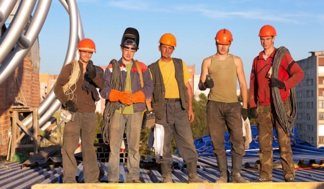 Equipe chantier de CBM75
